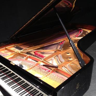 Lavoro di restauro pianoforte gran coda Steinway & Sons Teatro Miela TS