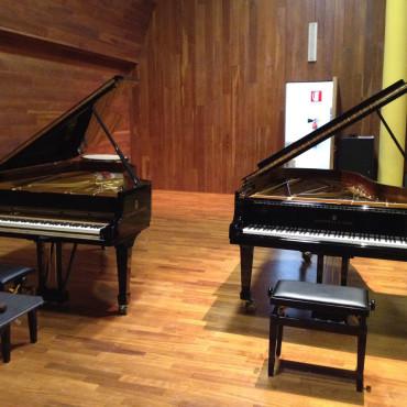 Lavoro di restauro due pianoforti Steinway modello B-211 del Conservatorio di Musica di Sassari