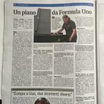 Intervista da parte di Andrea Ioime del Giornale IL FRIULI alla Steinway FVG di Lorenzo Cerneaz