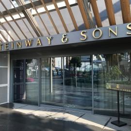 Il nuovissimo negozio Steinway & Sons Japan a Tokyo che sarà inaugurato oggi 15 Maggio 2017